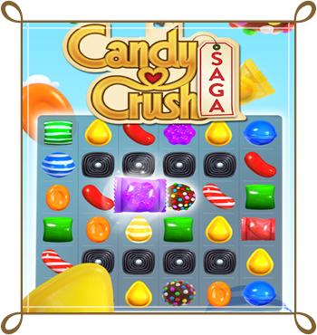 لعبة كاندي كراش Candy Crush Saga