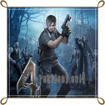 لعبة رزدنت ايفل 4 Resident Evil مضغوطة الاصلية